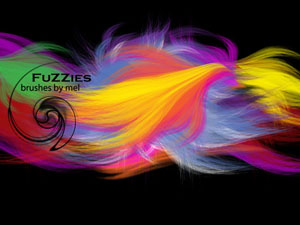 Fuzzies Brushes