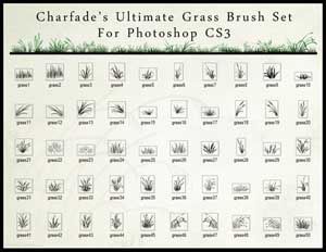 The Ultimate Grass Brush Set